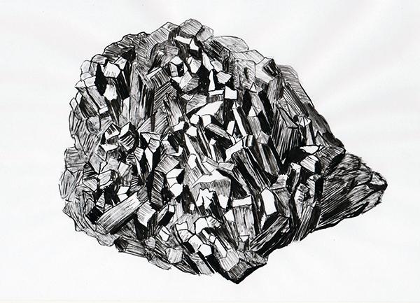 mine de plomb 21x29,7 cm