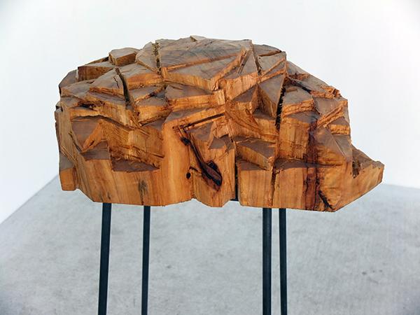 bois de platane, 150x70x40cm
