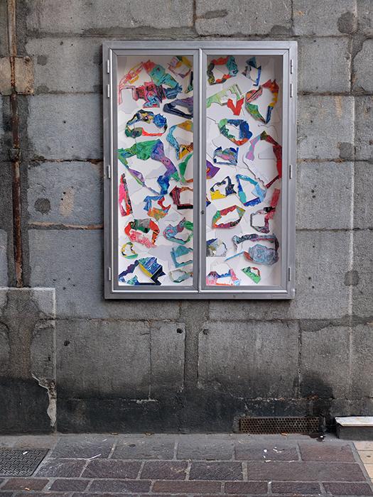 Vue de la vitrine, 2016